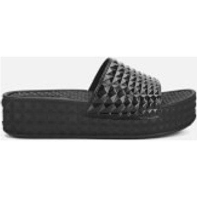 Ash Women's Scream Flatform Slide Sandals - Black - UK 5 - Black