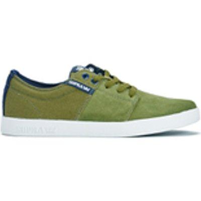 Supra Men's Stack II Trainers - Olive - UK 6 - Green