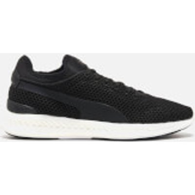 Puma Men's Ignite Sock Knit Running Trainers - Puma Black/Puma White - UK 9.5/EU 44 - Black/White