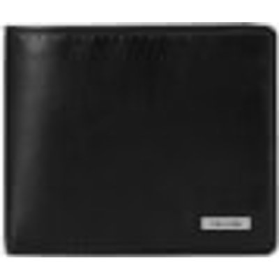 Calvin Klein Men's Rail Logo Slimfold Wallet - Black