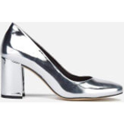 Dune Women's Acapela Metallic Court Shoes - Silver - UK 6 - Silver