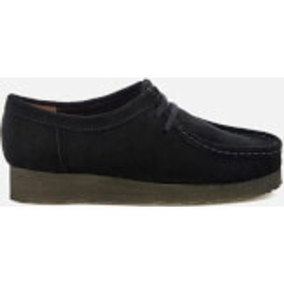 Clarks Originals Women's Wallabee Shoes - Black Suede - UK 3 - Black