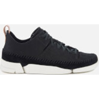 Clarks Originals Women's Trigenic Flex Shoes - Black Nubuck - UK 5 - Black