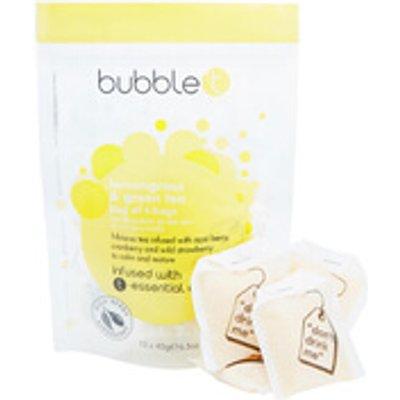 Bubble T Bath Infusion T Bags   Lemongrass   Green Tea 10 x 40g - 5053322010009