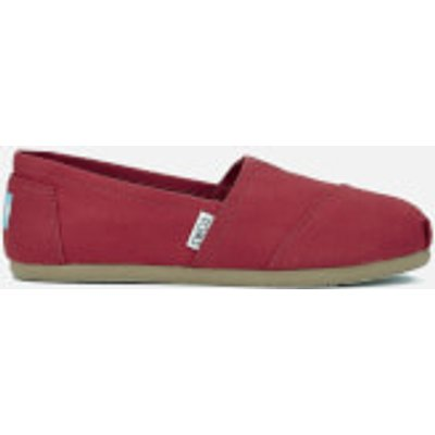 TOMS Women's Core Classics Slip-On Pumps - Red - UK 8/US 10 - Red