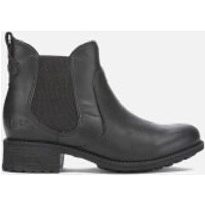 UGG Women's Bonham Leather Chelsea Boots - Black - UK 5.5 - Black