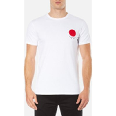 Edwin Men's Red Dot Logo 2 T-Shirt - White