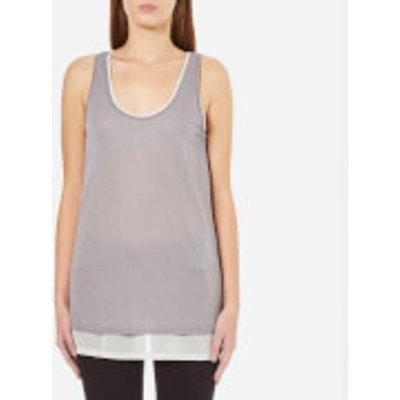 BOSS Orange Women's Terparty Top - Medium Grey
