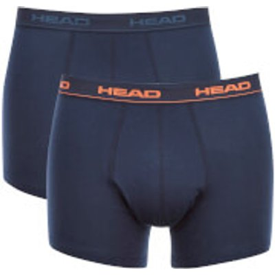 Head Men's 2-Pack Boxers - Peacoat - XL - Blue