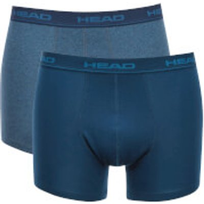 Head Men's 2-Pack Boxers - Blue Heaven - XL - Blue