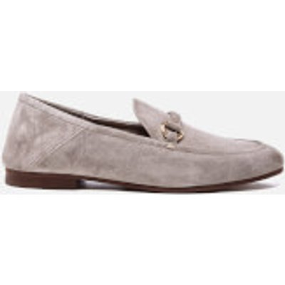 Hudson London Women's Arianna Suede Loafers - Taupe