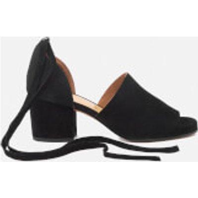 Hudson London Women's Metta Suede Heeled Sandals - Black