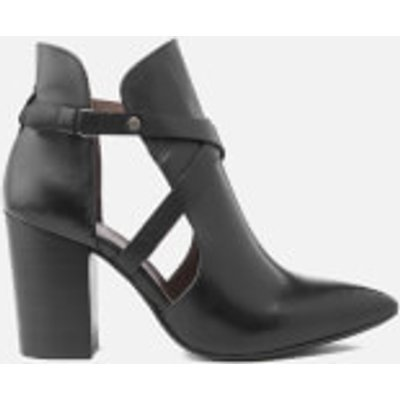 Hudson London Women's Geneve Leather Heeled Ankle Boots - Black