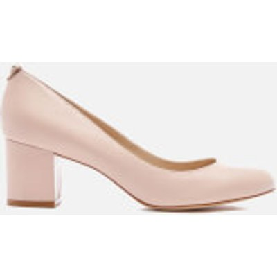 Dune Women's Atlas Leather Mid Heeled Court Shoes - Nude - UK 8 - Nude