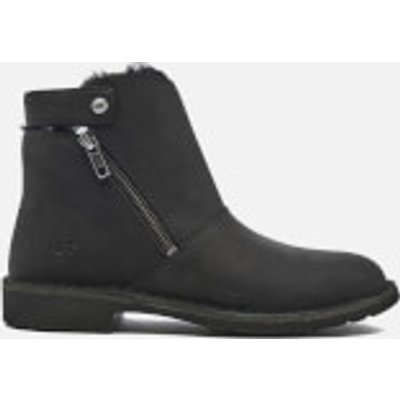 UGG Women's Kayel Leather Ankle Boots - Black