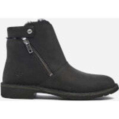 UGG Women's Kayel Leather Ankle Boots - Black - UK 7.5 - Black