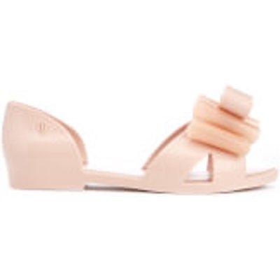 Mini Melissa Kids' Seduction Bow Flats - Blush - UK 1 Kids - Pink