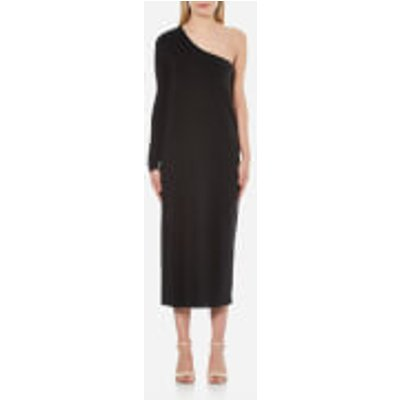 Samsoe & Samsoe Women's Shamir One Shoulder Dress - Black