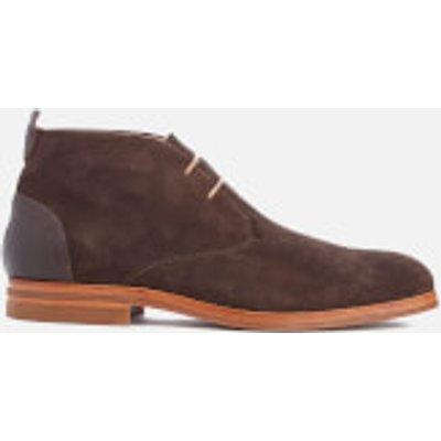 Hudson London Men's Matteo Suede Chukka Boots - Brown - UK 11 - Brown