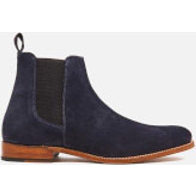 Grenson Men's Declan Suede Chelsea Boots - Navy