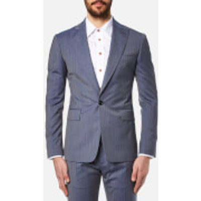 Vivienne Westwood MAN Men's Wool James Suit - Avio