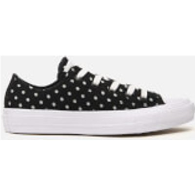 Converse Women's Chuck Taylor All Star II Ox Trainers - Black/White