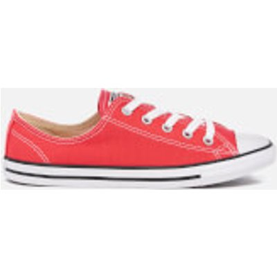 Converse Women's Chuck Taylor All Star Dainty Trainers - Ultra Red/Black/White - UK 8 - Red