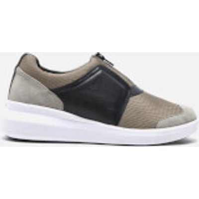 DKNY Women's Taylor Zip On Trainers - Dark Clay