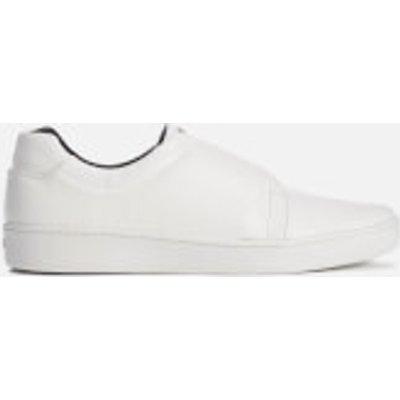 DKNY Women's Bobby Classic Court Slip On Trainers - White