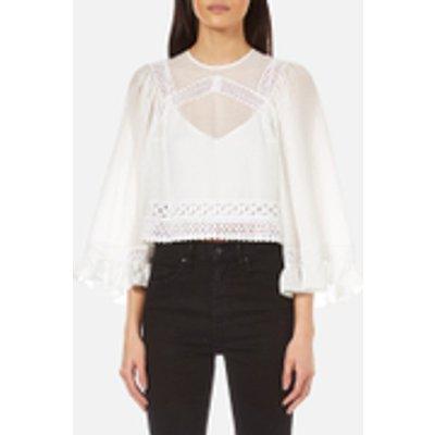 McQ Alexander McQueen Women's Volume Sleeve Top - White
