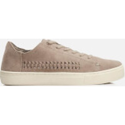 TOMS Women's Lenox Suede Woven Panel Trainers - Taupe Suede/Woven Panel - UK 4/US 6 - Beige