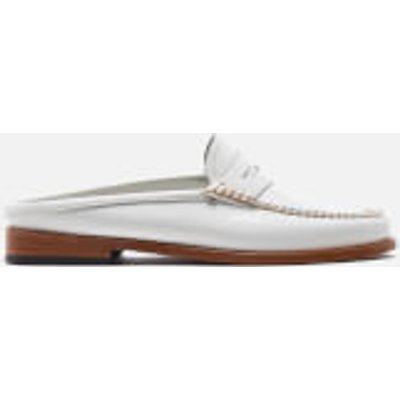 Bass Weejuns Women's Penny Slide Leather Loafers - White