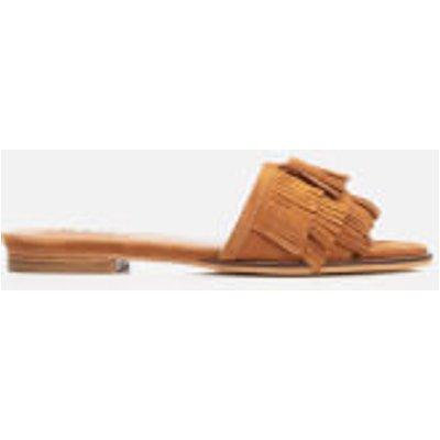 Dune Women's Lassi Suede Slide Sandals - Tan - UK 6 - Tan