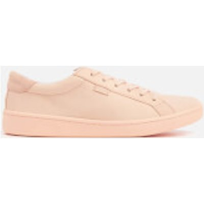 Keds Women's Ace Mono Leather Cupsole Trainers - Pale Peach - UK 5 - Pink