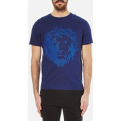 Versus Versace Men's Embossed Lion T-Shirt - Blue