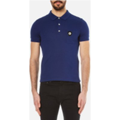 Versus Versace Men's Medusa Logo Polo Shirt - Blue