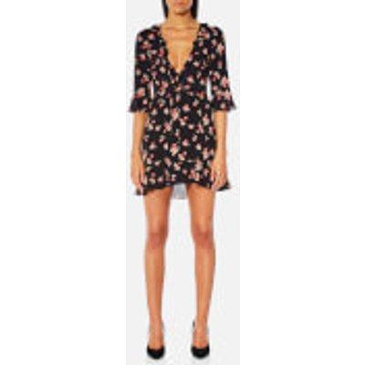 For Love & Lemons Women's Cherry Sundress - Cherry Noir