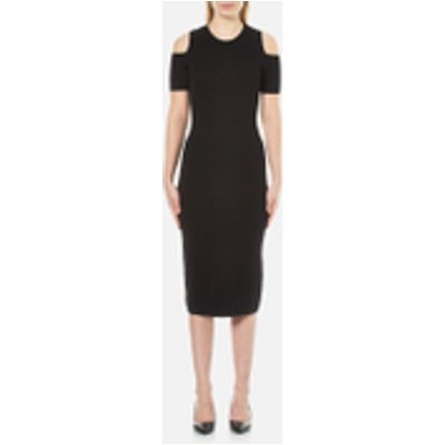 MICHAEL MICHAEL KORS Women's Nyla Croc Coldshoulder Dress - Black