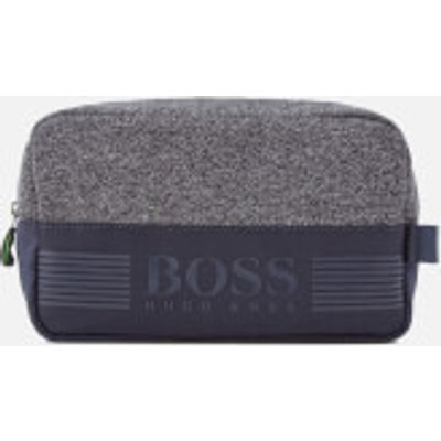 BOSS Green Men's Pixel Medium Washbag - Navy