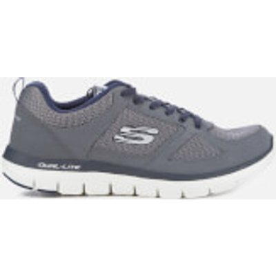 Skechers Men's Flex Advantage 2.0 Trainers - Charcoal - UK 7 - Grey