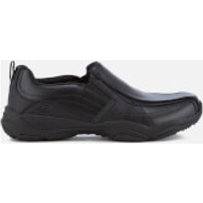 Skechers Men's Larson Berto Slip On Shoes - Black - UK 11 - Black