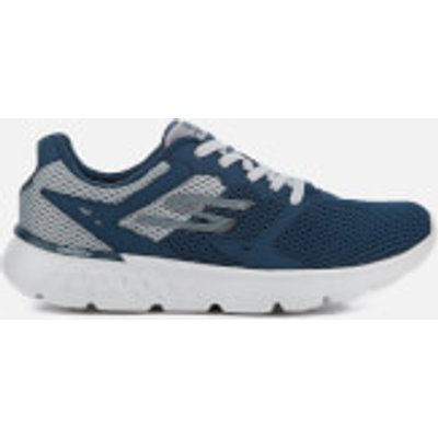 Skechers Men's Go Run 400 Trainers - Navy/Grey - UK 7 - Blue/Grey