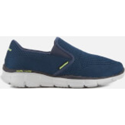Skechers Men's Equalizer Double-Play Trainers - Navy - UK 9 - Blue