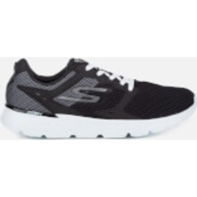 Skechers Men's Go Run 400 Trainers - Black/White - UK 7 - Black