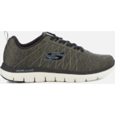 Skechers Men's Flex Advantage 2.0 Chillston Trainers - Olive - UK 11 - Green