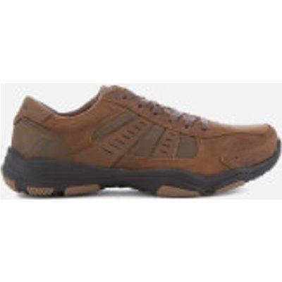 Skechers Men's Larson Nerick Shoes - Dark Brown - UK 10 - Brown