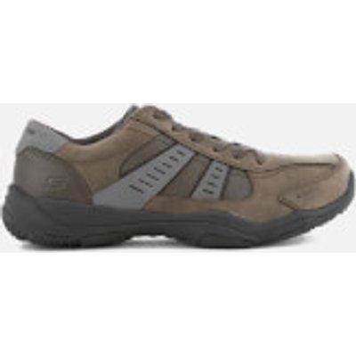 Skechers Men's Larson Nerick Shoes - Charcoal - UK 9 - Grey