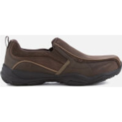 Skechers Men's Larson Berto Slip On Shoes - Dark Brown - UK 7 - Brown