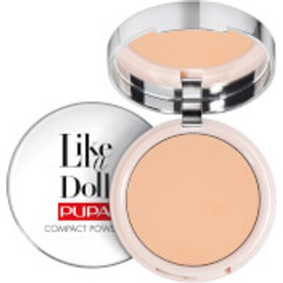 PUPA Like A Doll Perfecting Make-Up Fluid Nude Look Foundation (Various Shades) - Golden Beige