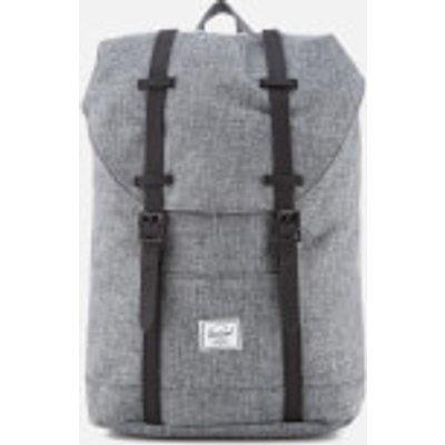 Herschel Supply Co. Retreat Mid-Volume Backpack - Raven Crosshatch/Black Rubber